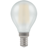 Crompton Filament Dimmable LED Round 5W SES-E14 Pearl