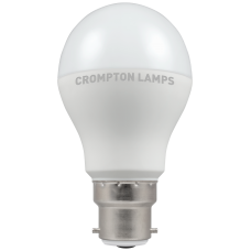 Crompton LED Thermal Plastic GLS 9.5W BC-B22d