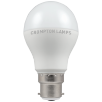 Crompton LED Thermal Plastic GLS 12W BC-B22d 6500K