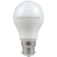 Crompton LED Thermal Plastic Dimmable GLS 12W BC-B22d