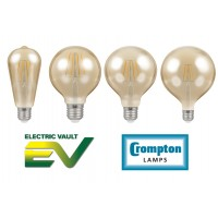 Crompton Filament LED Antique Bronze