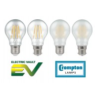 Crompton Filament LED GLS Lamps