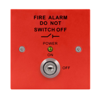 ESP MAGISORP Fire Isolator Switch & Key Red