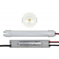 ESP LED 3W Emergency Open Lens Downlight