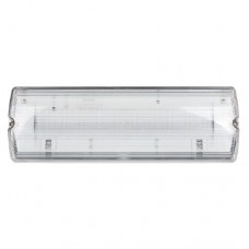 ESP 3W LED Maintained Emergency Bulkhead