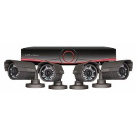 ESP 4 Channel Full HD 1TB CCTV System with Cylindrical Cameras