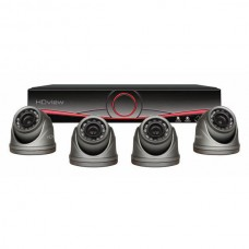 ESP 4 Channel Full HD 1TB CCTV System with Dome Cameras
