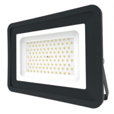 LED Basic Black Aluminium Floodlight 4000K 100w