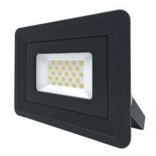 LED Basic Black Aluminium Floodlight 4000K 20w