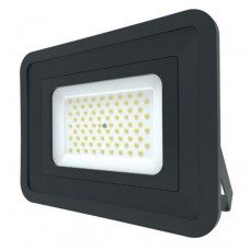 LED Basic Black Aluminium Floodlight 4000K 70w