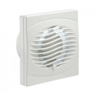 Manrose Intervent Humidistat Extractor Fan - 100mm
