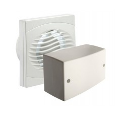 Manrose Intervent Low Voltage Timer Extractor Fan - 100mm