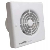 Manrose Intervent Quiet Timer Extractor Fan - 100mm