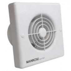 Manrose Intervent Quiet Standard Extractor Fan - 100mm