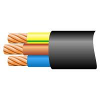 6mm H07RN-F 3 Core EPR/PCP Flex Cable Black (Per Metre)