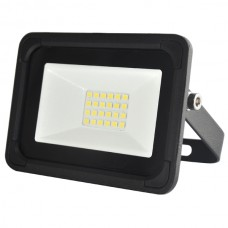 10W AC LED Floodlight Black IP65 4000K