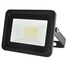 10W AC LED Floodlight Black IP65 4000K