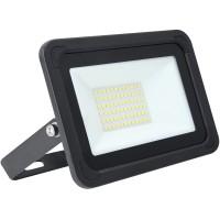 20W AC LED Floodlight Black IP65 4000k