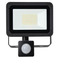 20W AC LED Floodlight with PIR Black IP65 4000K