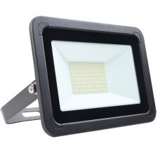 50W AC LED Floodlight Black IP65 4000K