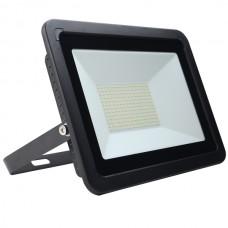 100W AC LED Floodlight Black IP65 4000K