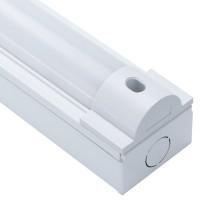 19W Single Batten Strip Light 4ft White IP20 6000K