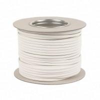 1.5mm 3183Y 3 Core White PVC Flex Cable (50 Metre Drum)