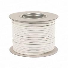 1.5mm 3183Y 3 Core White PVC Flex Cable (100 Metre Drum)