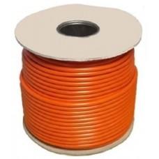 1.0mm 3183Y 3 Core Orange Flex PVC Cable (50 Metre Drum)
