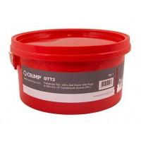 Unicrimp QTT2U Tradesman 400 x Wall Plugs & 400 x  Countersunk Screws Tub