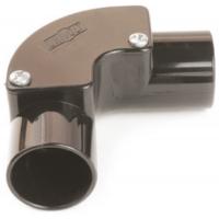Univolt IE20BK Conduit Inspection Elbow 20mm Black