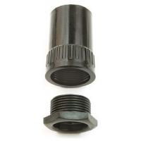 Univolt AFT/MBS20BK Female Thread Adaptor 20mm Black