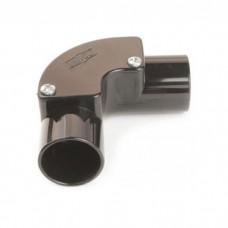 Univolt IE25BK Conduit Inspection Elbow 25mm Black