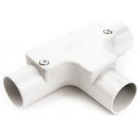 Univolt IT25WH Conduit Inspection Tee 25mm White