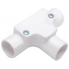 Univolt IT20WH Conduit Inspection Tee 20mm White