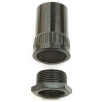 Univolt AFT/MBS25BK Female Thread Adaptor 25mm Black