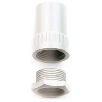 Univolt AFT/MBS25WH Female Thread Adaptor 25mm White