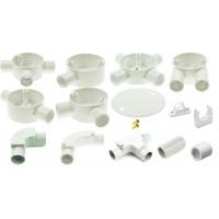 White PVC Conduit & Accessories