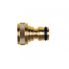 CK G791550 Threaded Tap Connector 1/2in Brass
