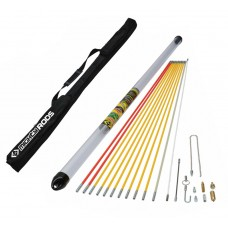 CK T5422 MightyRod Cable Super Rod Set 12m with Carry Case