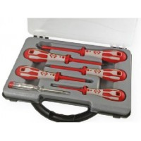 CK Dextro VDE Glo 6 Piece Pozi Screwdriver Set
