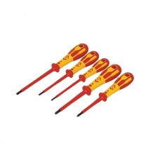 CK Dextro VDE 5 Piece Pozi Screwdriver Set