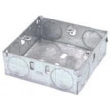 GreenBrook 116 Galvanised Back Box 1 Gang 16mm