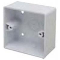 Marco MSB44R1 Surface Box 1 Gang Round Corners White