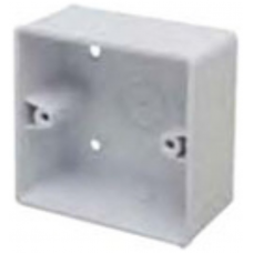 Marco MSB44R1 Surface Box 1 Gang Round Corners White