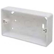 Marco MSB32R2 Surface Box 2 Gang Round Corners White