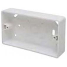 Marco MSB32R2 Surface Box 2 Gang Round Corners White