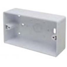 Marco MSB44R2 Surface Box 2 Gang Round Corners White