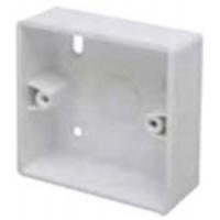 Marco MSB32R1 Surface Box 1 Gang Round Corners White
