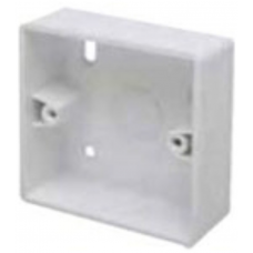 Marco MSB32R1 Surface Box 1 Gang Round Corners White